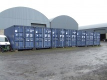 CLEUD approved for retention of 21 shipping containers used for self storage in the countryside, Limavady.