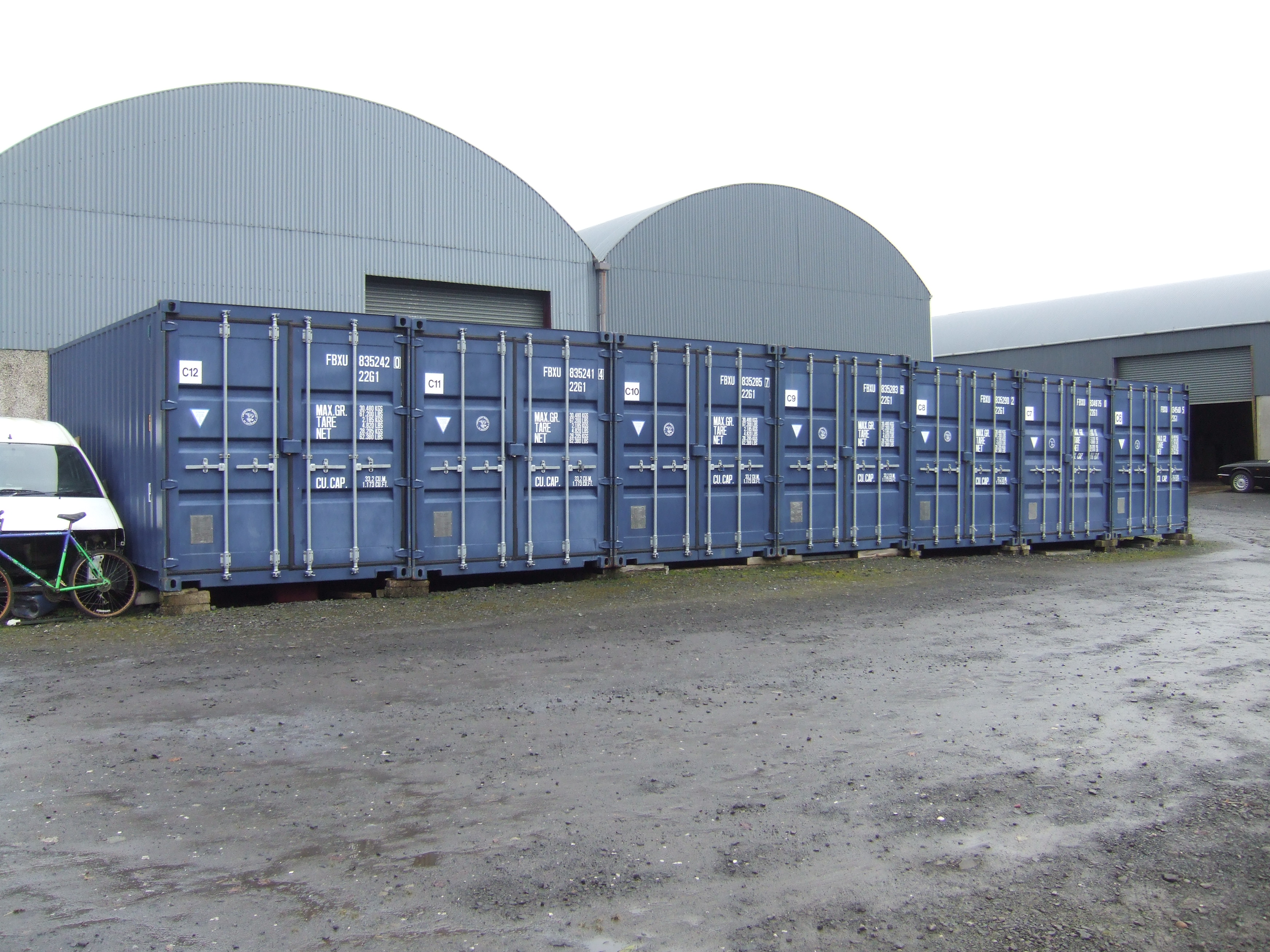 CLEUD approved for retention of 21 shipping containers used for self
