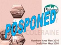 Draft NAP 2016 PAC Public Inquiry Report Postponed.