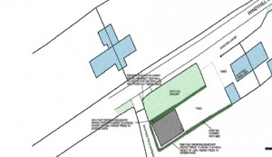 Domestic Garage and Area Block Plan