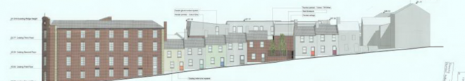 DERRY CITY AND STRABANE DISTRICT COUNCIL APPROVE ABERCORN ROAD SHIRT FACTORY CONVERSION TO APARTMENTS.