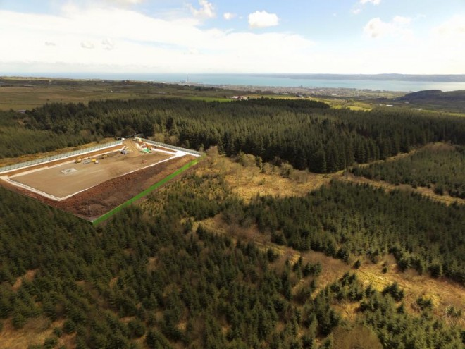 WOODBURN DRILL SITE FAILS TO HIT OIL.