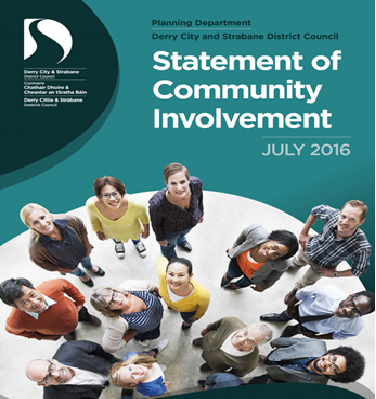 DERRY CITY AND STRABANE DISTRICT COUNCIL- STATEMENT OF COMMUNITY INVOLVEMENT.