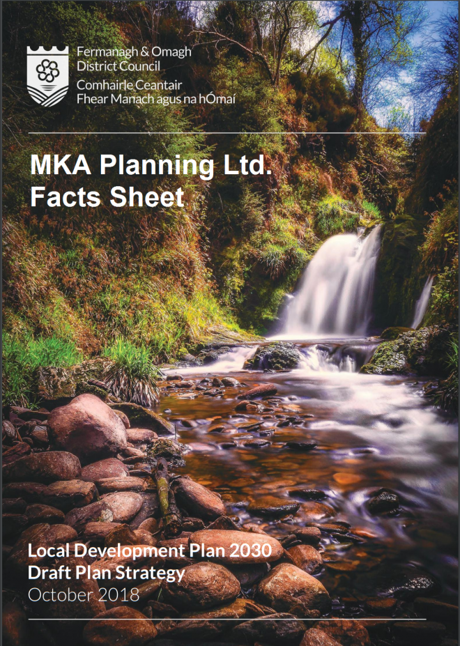 MKA Facts Sheet for the Fermanagh & Omagh Area Plan 2030