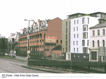 PERMISSION GRANTED FOR 42 APARTMENTS ON DUKE STREET, DERRY