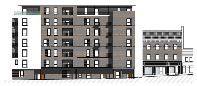 COMMUNITY CONSULTATION EVENT FOR  APARTMENT BLOCK (CONSISTING OF 71 NO. APARTMENTS) AT 66 – 74 DUKE STREET.