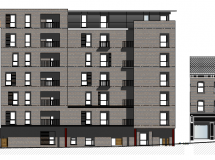 PLANNING PERMISSION GRANTED FOR 74 APARTMENTS AT DUKE STREET, WATERSIDE, DERRY
